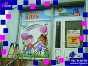 Поклеить оракалом магазины, транспорт, поклеить на окна в Черновцах