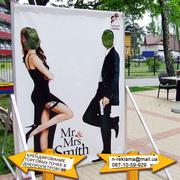 реклама на транспорте Марганец,  оформление рекламы Марганец,  оракал