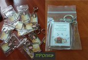 Нанесення логотипу на флешки,  щоденники,  блокноти,  брелки та магнітики